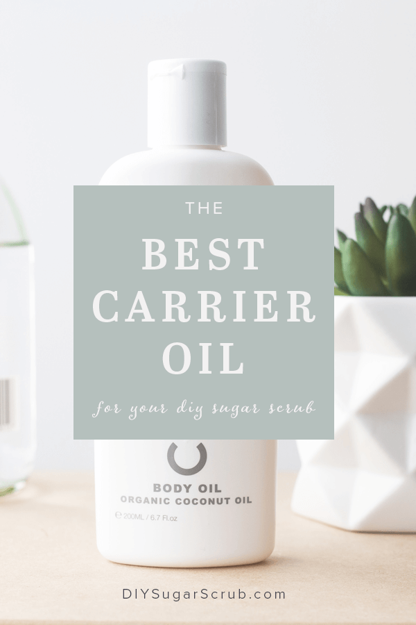 If you are making a sugar scrub for yourself or as a gift at home, find out which organic carrier oil is best for a great quality scrub!