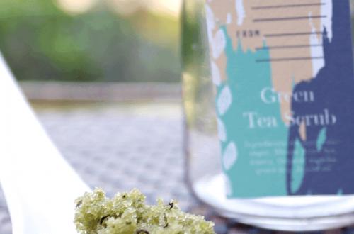 Green Tea Scrub DIY