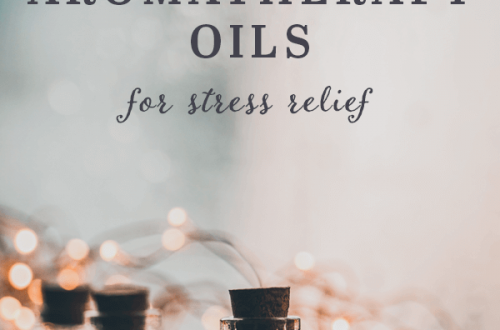 How to use aromatherapy oils for stress relief