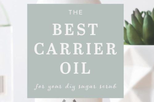 best carrier oil for your sugar scrub