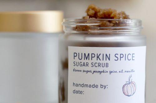 Pumpkin Spice Sugar Scrub: A Homemade Remedy For Dry Skin